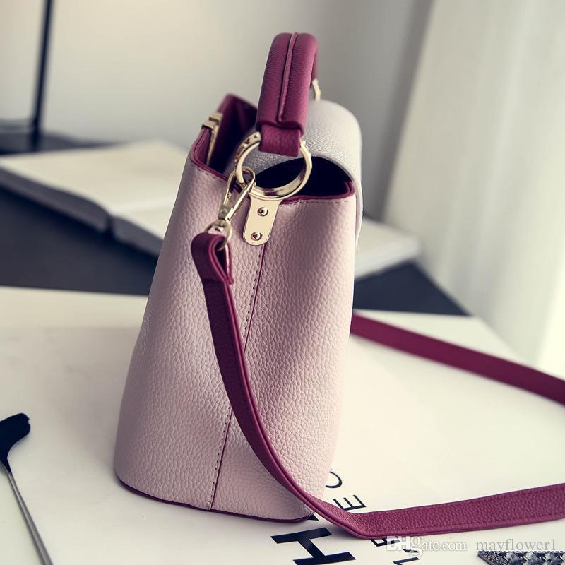 CAPUCINES top-handle bags bolsas de couro das mulheres famosa marca V sacos de designer de bolsas de alta qualidade ombro crossbody Bag