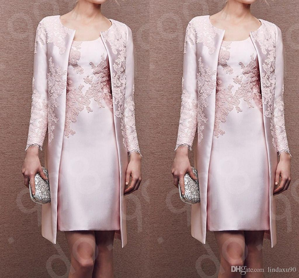Pink Bride Dresses Mother of the Coat
