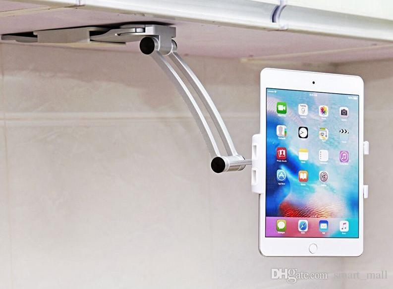Küche tablet halterung stehen 2-in-1 küche wand tablet halterung halterung  für 5-10,5 zoll tablet pc handy für ipad für samsung galaxy tab