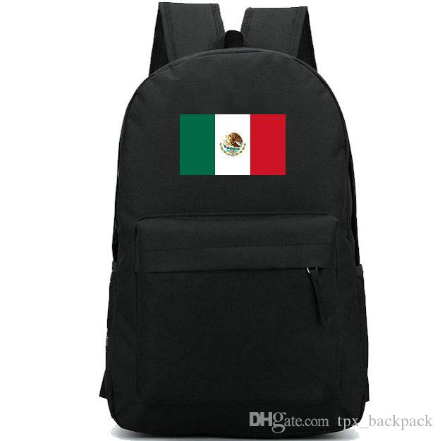 e6492530a Mexico Flag Backpack Cool Country Day Pack Eagle Color Banner School Bag  Casual Packsack Good Rucksack Sport Schoolbag Outdoor Daypack Mochilas  Jansport ...