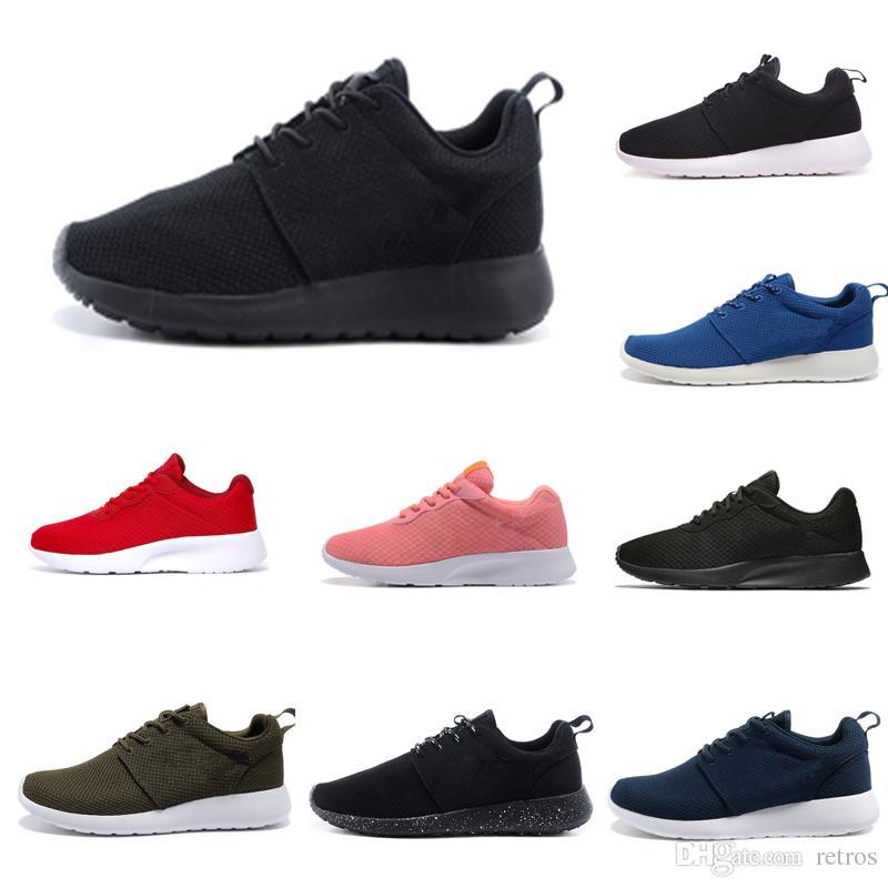 Compre Nike Tanjun 3.0 London 1.0 Hombre Mujer Zapatos Triple Blanco Negro Rosa Símbolo Azul Gris Rojo Entrenadores Para Hombre Diseñador Zapatos