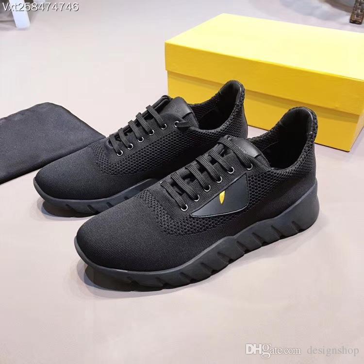 Herrenschuhe FD Luxury Brand Echtes Leder Casual Driving Wohnungen Schuhe Herren Loafers Mokassins Italienisch Kleine Monster Augen Casual Schuhe