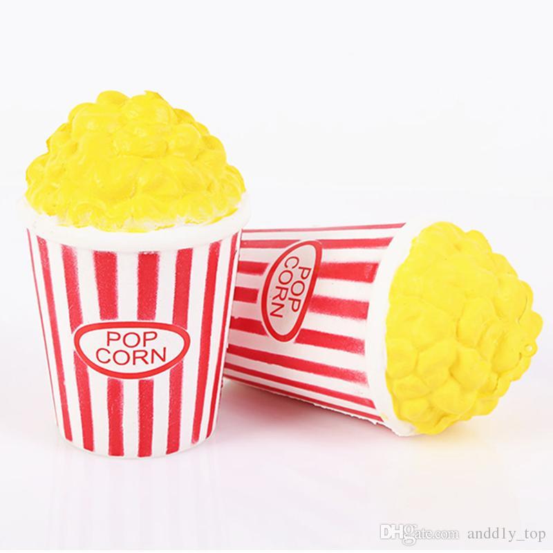 Popcorn Slow Rising Bouffi Riz Squishies Jouet Simulation Parfum Parfum Relax Jumbo Décor Cadeau Pour Enfants Squishy Livraison Gratuite SQU006