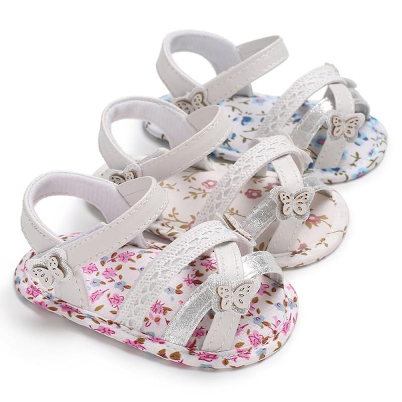 1edb4c2d448f0b New Summer Flowers Baby Girl Sandals Newborn Baby Shoes Butterfly Cartoon  Fashion Sandals For Girls Cotton Cute Beach Kids Boots Sale Girls Kids Shoe  Boots ...