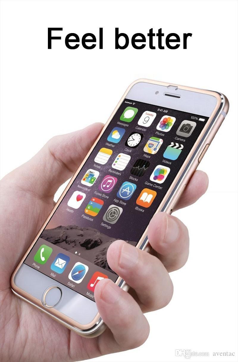 HSTRADE закаленное стекло для iphone 8 6 6 S 7 Plus Full Screen Protector 3D алюминиевый сплав для iPhone защитное стекло