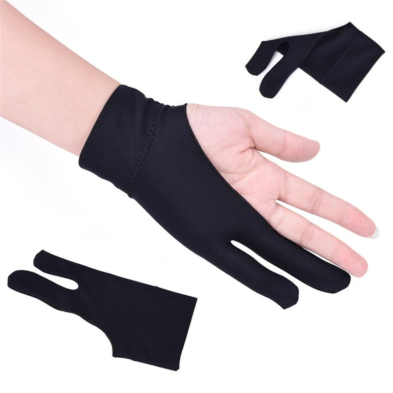 2019 Artist Drawing Glove For Any Graphics Drawing Tablet 2 Finger