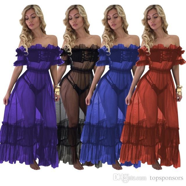 Acquista Vestito Lungo Elegante Da Donna Con Maniche Lunghe A Maniche  Lunghe Con Scollo A V A Maniche Lunghe E Maniche Lunghe A  23.12 Dal  Topsponsors ... 9ff98b91e51