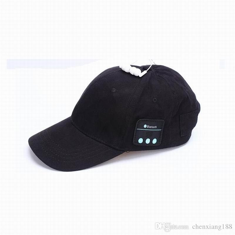 Hot Sales Smart Phone Tablet Wireless Sport Bluetooth Music Hat 2-in-1 Hands-free Cap Speaker Sport Baseball Cap Headset