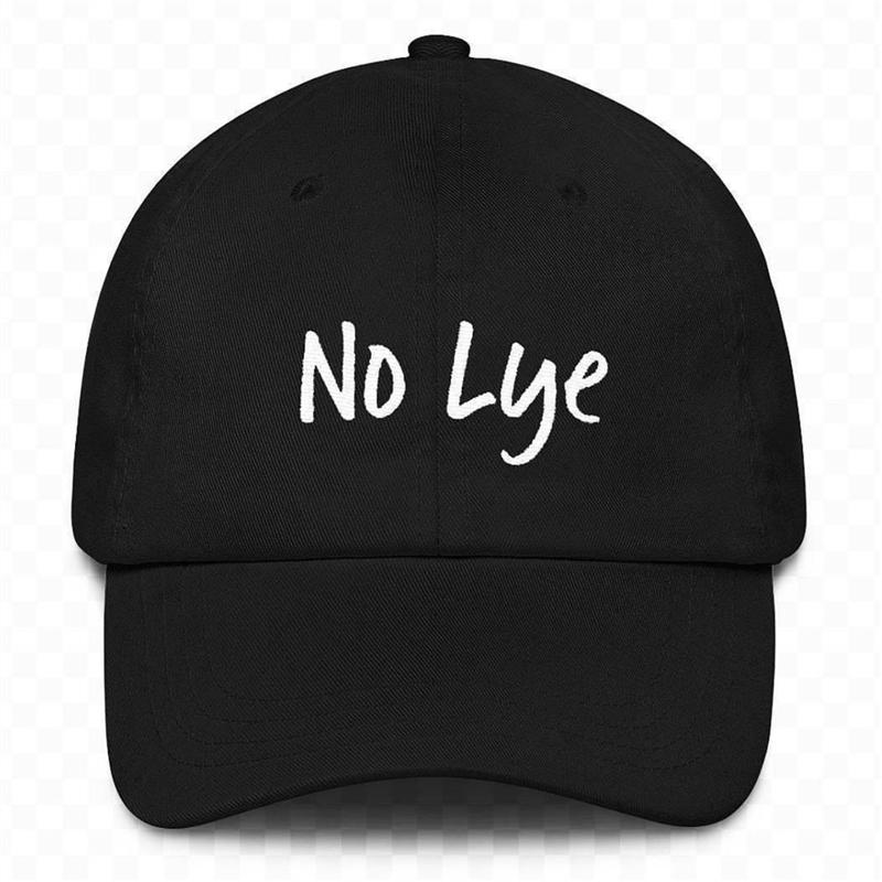 2018 New No Lye Embroidered Dad Hat Summer Men Women Fashion Baseball Cap  Adjustable Hip Hop Snapback Cap Hats Wholesale Hats Caps Online From  Alley66 62c4226d37f