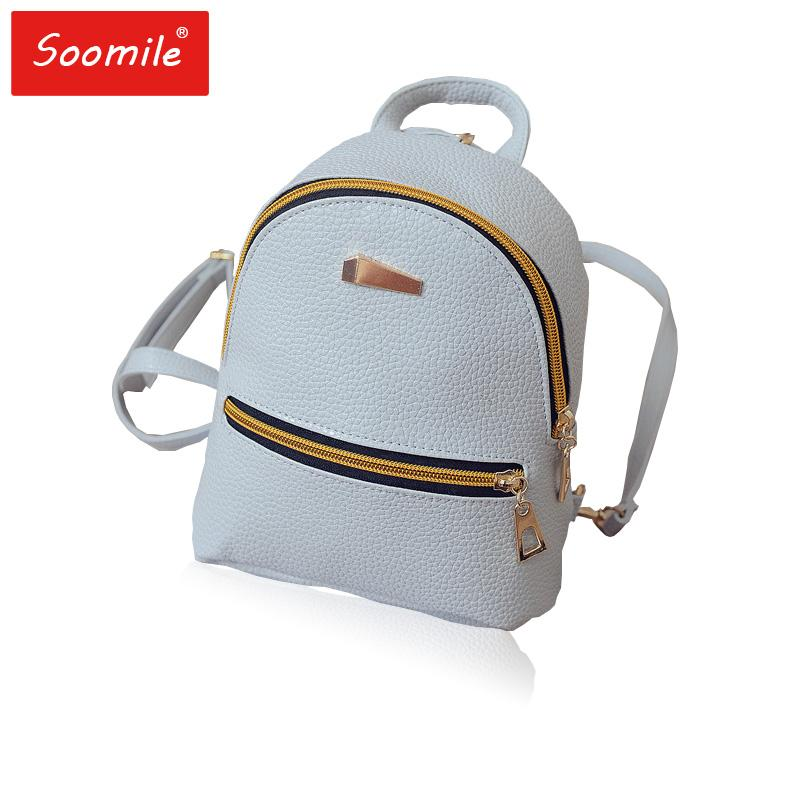 47a659824ebd Mini Women Backpack Cute Pink PU Leather Backpacks Children Teenager Female  Girls Shoulder Bag Back Pack Small Mochila Bagpack Online with  35.92 Piece  on ...