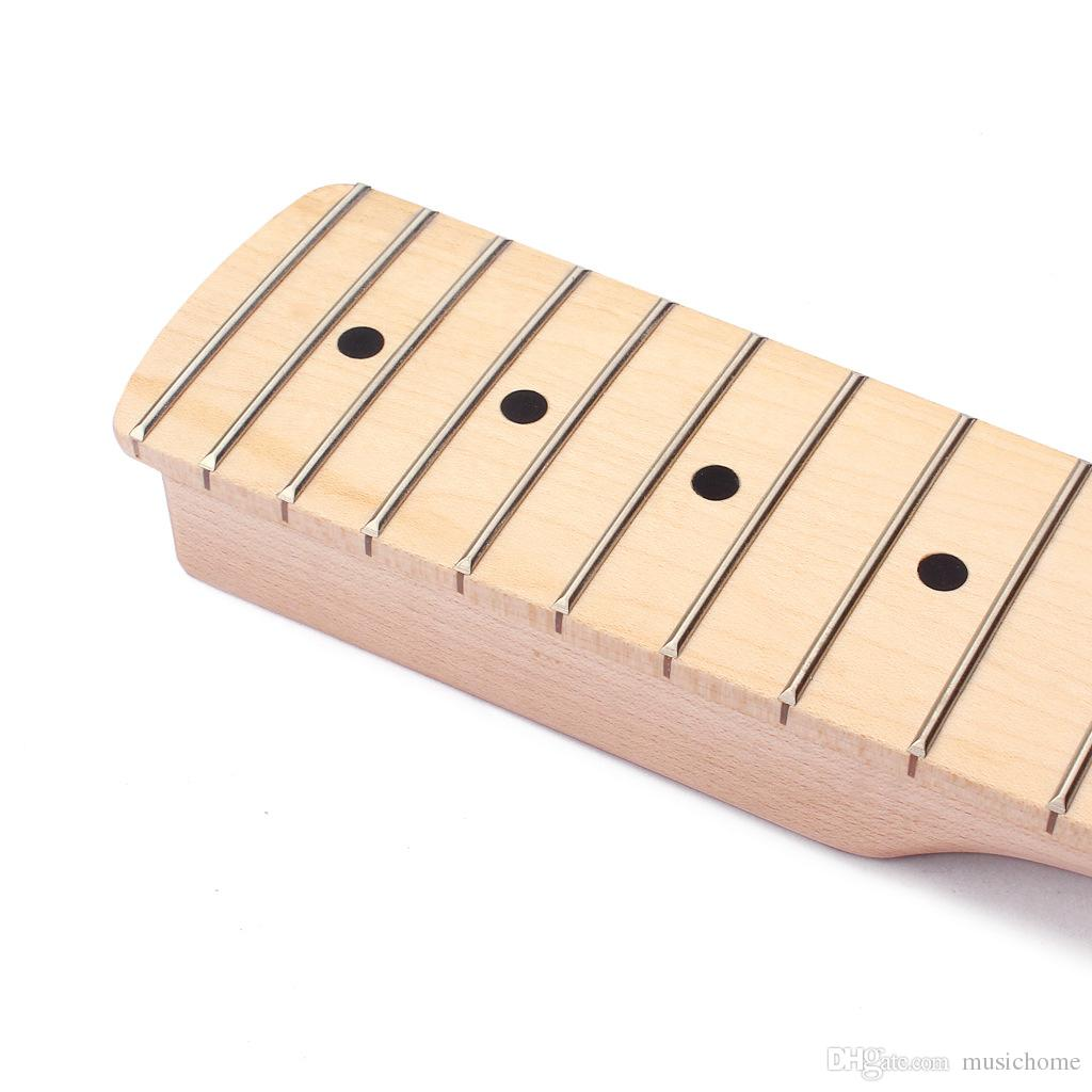 22 frets Style Guitar Neck Maple Fingerboard For Electric Guitar Neck Replacement Parts