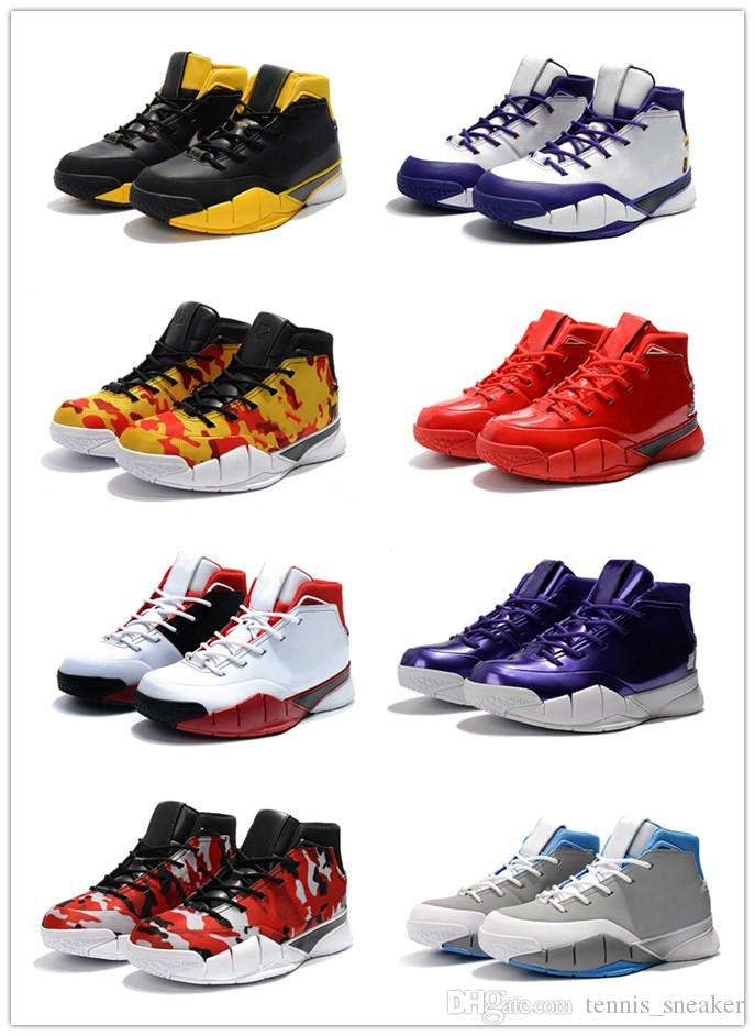 dd7e8b9483c7 2019 2018 New Kobe 1 Protro PE Camouflage Green Gum Zoom Basketball Shoes  KB ZK1 Protro All Star Wolf Grey White University Blue Sneakers From ...