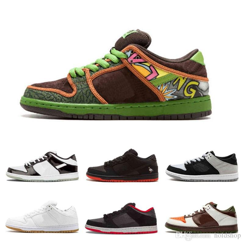 huge selection of 00b02 c1818 Dunk SB Low TRD QS Pigeon TOKYO 304292 110 Black Pigeon Black Cement  Basketball Shoes The Dove Of Peace Authentic Sneakers Limited Release  Canada 2018 From ...