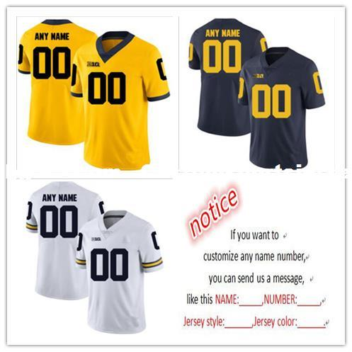 Cheap Custom Michigan Wolverines Men S College Football Jersey