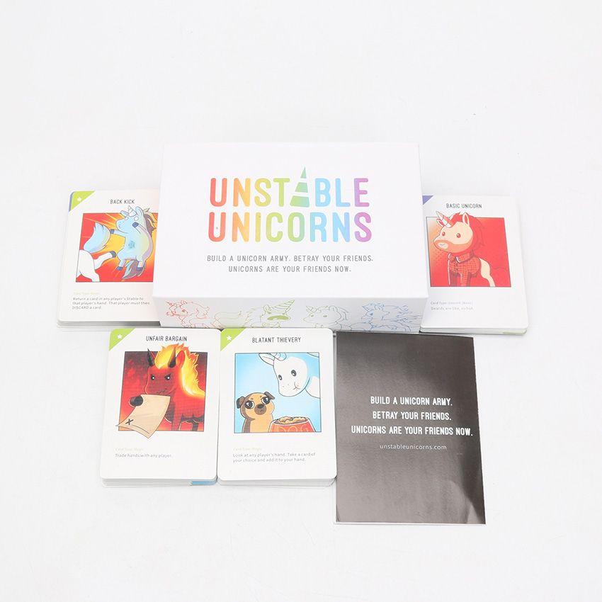 Compre Jugar Juegos Unicornios Inestables Base Partido De Juego