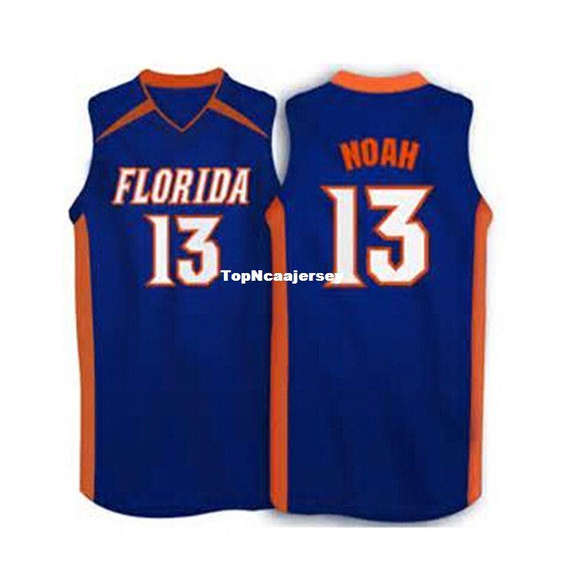 c8c1535ebb5 2019 Cheap #13 Joakim Noah Florida Gators White,Blue 2007 Basketball  Jersey,Custom Any Sizes,All Name And Numbers Are Stitched On From  Topncaajersey, ...