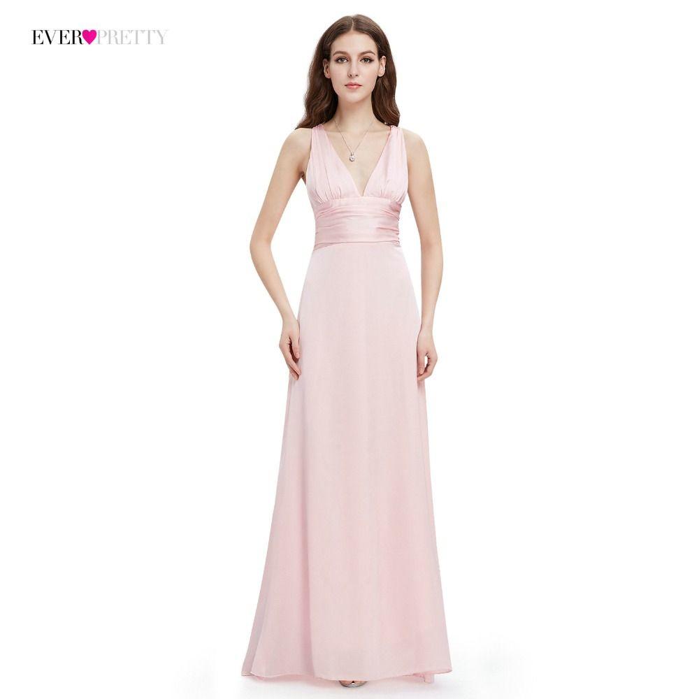 Evening Dress Ever Pretty EP09008 A Line Double V Neck Sleeveless Elegant Evening  Dresses Long Formal Party Dresses For Women Dresses Online Evening Gowns ... 63a49a0c07cc