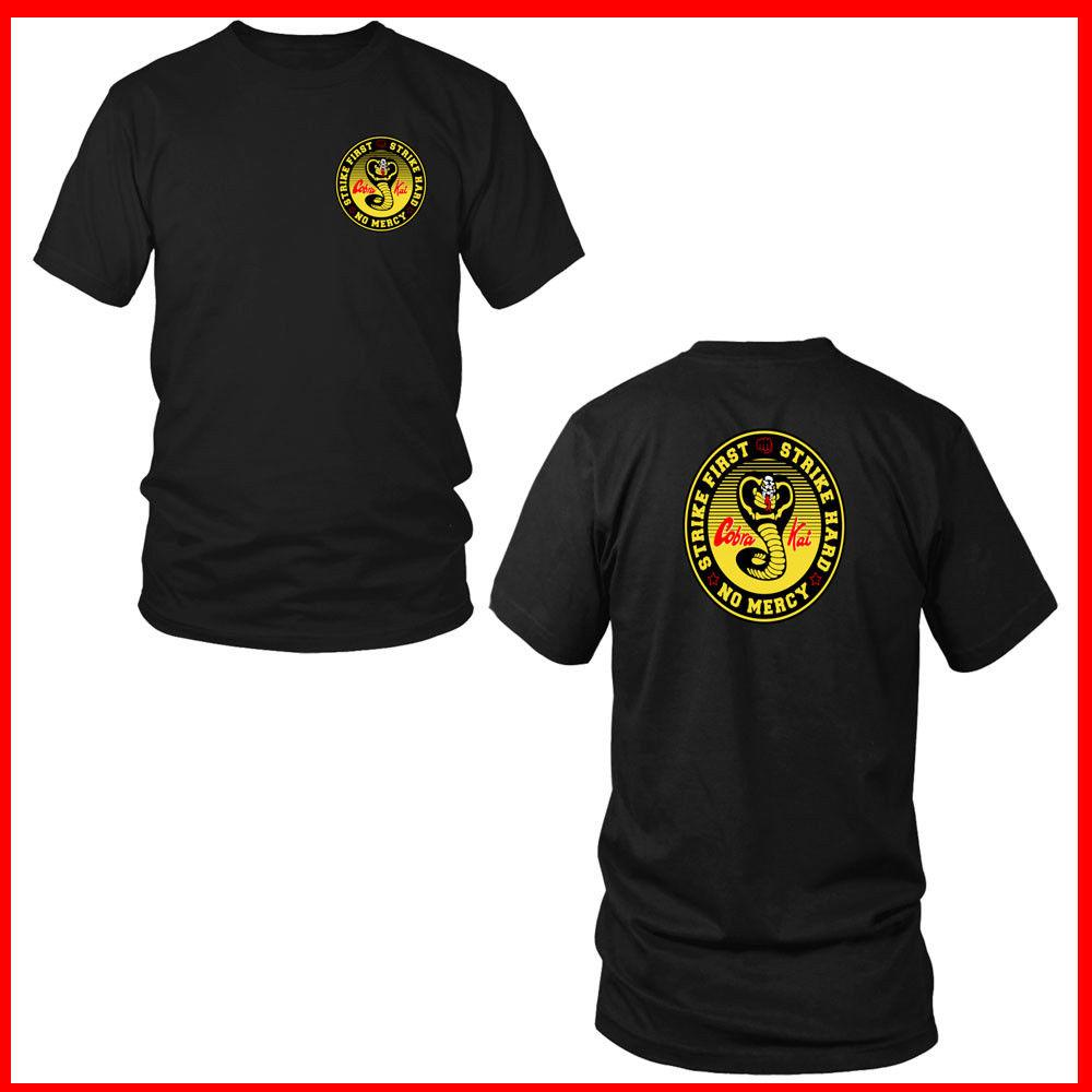 caf942814 Cool Cobra Kai T Shirt Black Cobra Kai Shirt Cobra Kai Tshirt Sweep The LEG!  Cool Casual Pride T Shirt Men Unisex Fashion Tshirt Funny Slogan T Shirts  Cool ...