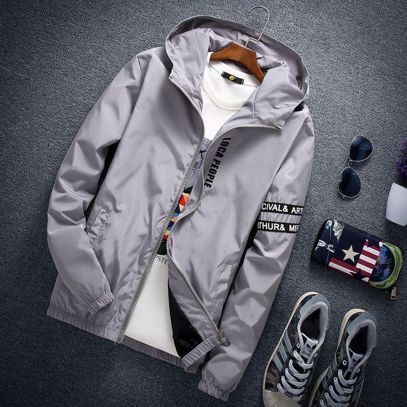Hirigin 2017 Yeni Tasarım Yaz Güz Uzun Kollu Güneş Koruyucu Ceket Giymek Jersey rüzgarlık Ceket erkekler ceket giymek