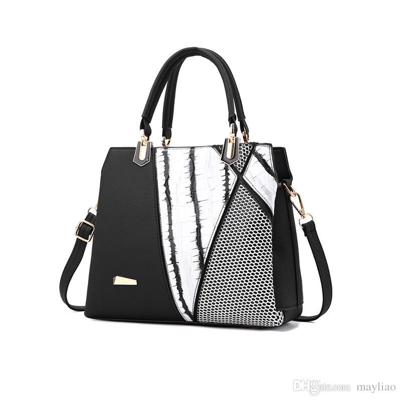 57b65b48ce0 Woman Bag 2018 Luxury Leather Handbags Women Casual Work Tote Bags Famous  Designer Crossbody Bags For Ladies Fashion Shoulder Bag Handbag Handbags  Purses ...