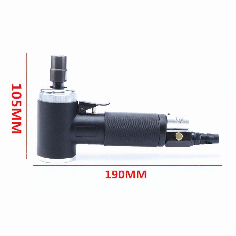 Ücretsiz kargo 2 veya 3 inç pnömatik taşlama makinesi 90 derece dirsek hava taşlama aracı rüzgar değirmeni değirmen parlatma makinesi 3 / 6mm