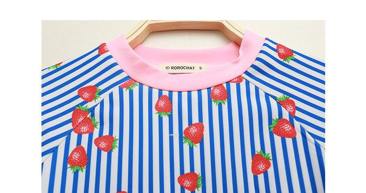 Two Pieces Swimsuit Kids Clothing Infant Baby Girls Swimsuits Fashion Child Bathing Set Girls Swimwear Printing Beachwear