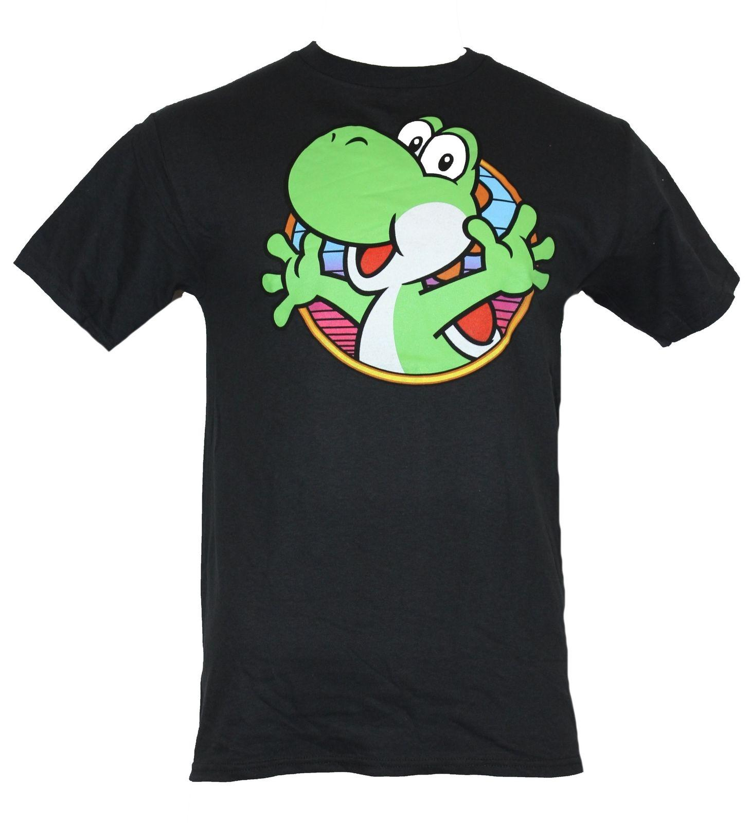 396199dd0 Super Mario Brothers Mens T Shirt Yoshi Popping From A Circle Image T Shirt  24 Hours Buy Cool Shirts Online From Crazytomorrow40, $11.58| DHgate.Com