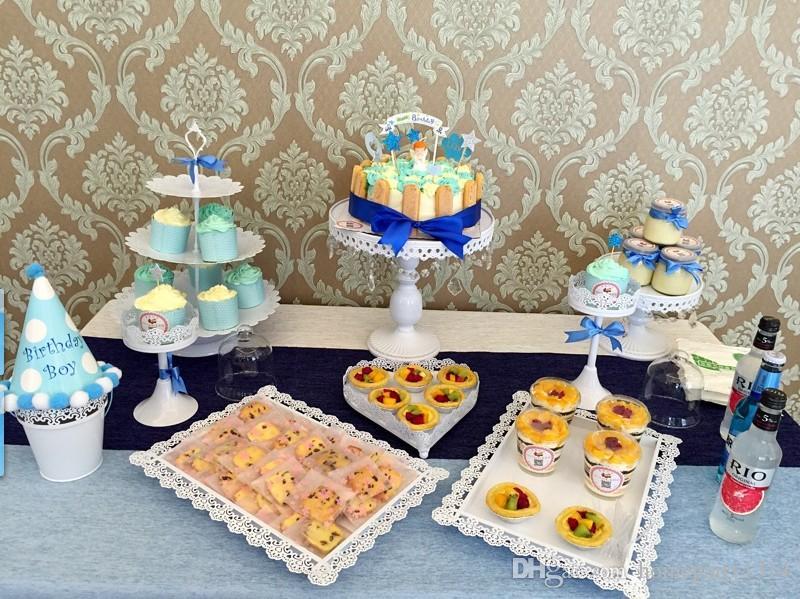 / الكثير الذهب الأبيض الكريستال كعكة معدن حامل الكب كيك الزفاف يقف لوحات كعكة عموم أدوات كعكة الفاكهة شريط زخرفة الكعكة خبز مجموعة