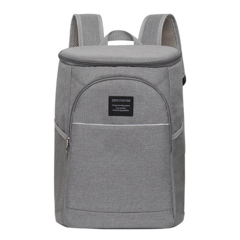 0f251f0b6e Acheter 18L Cooler Backpack Thermique Isotherme Ice Pack Oxford Lunch Box  Imperméable Pique Nique Thermo Beer Sacs À Bandoulière Grande Capacité De  $34.4 Du ...