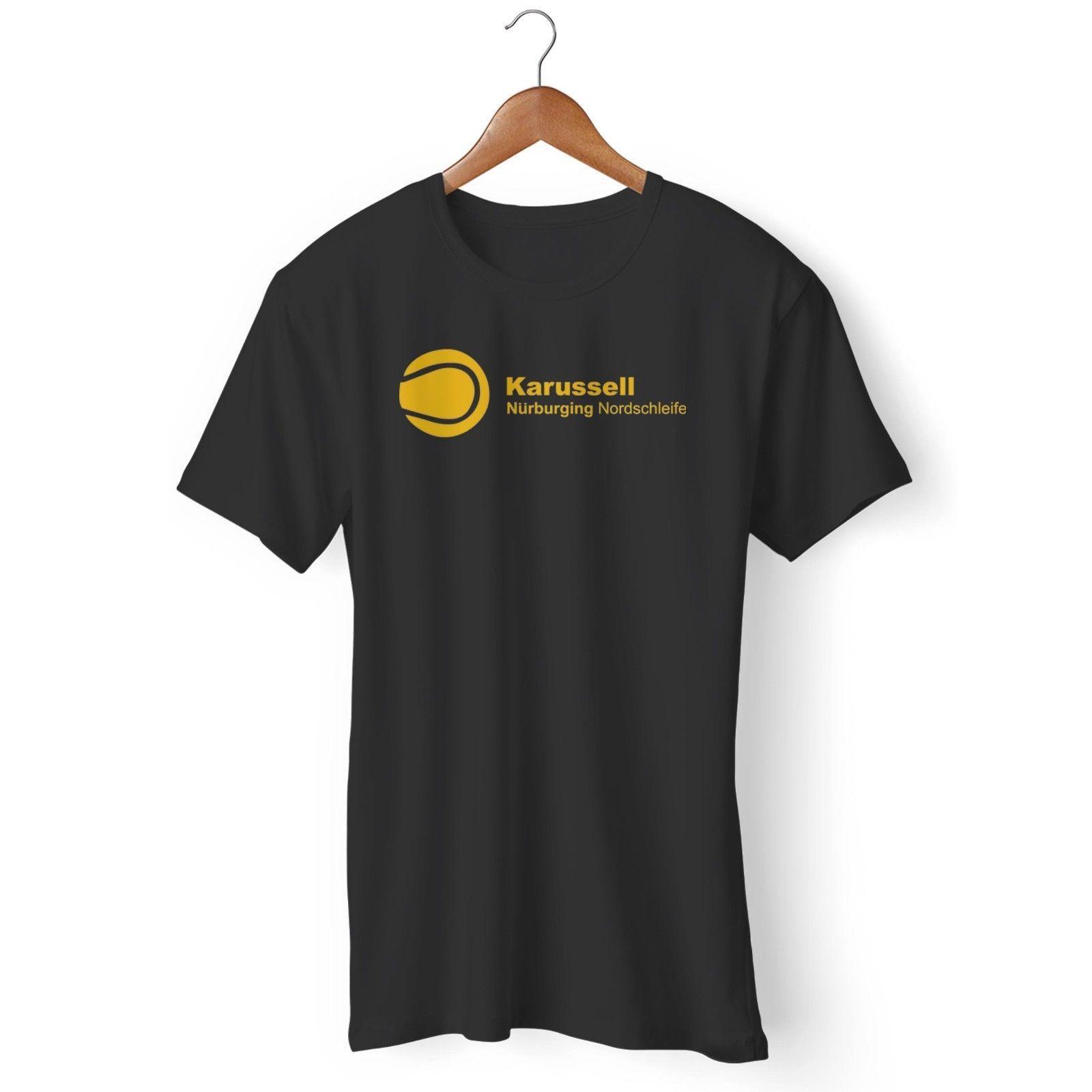 Karussell Nurburgring Nordschleife F1 Formel Deutschland Mann T Shirt Der Frau Lustiges Freies Verschiffen Unisex Beiläufige T Stück