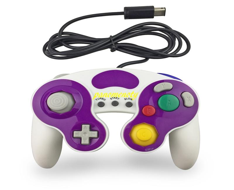 / Controller GC cablato GameCube Gamepad Controle PC GC Joystick Supporto vibrazione i