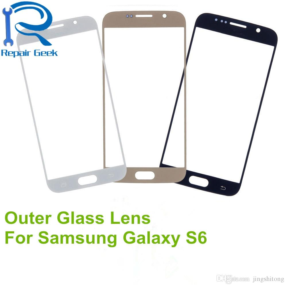 Grade B High Quality Outer Glass Lens For Samsung Galaxy S3 S4 S5 S6 S7 Replacement Parts LCD Touch Screen For Note 2 4 Note 3 III N9000