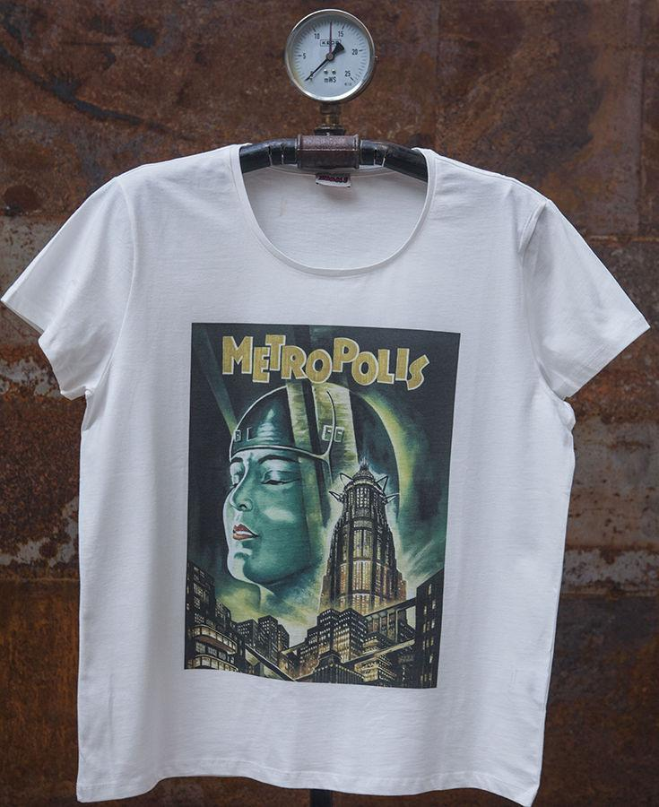 Movie Camiseta Hombre Compre Para Metropolis Estampado QCsrhBdxto