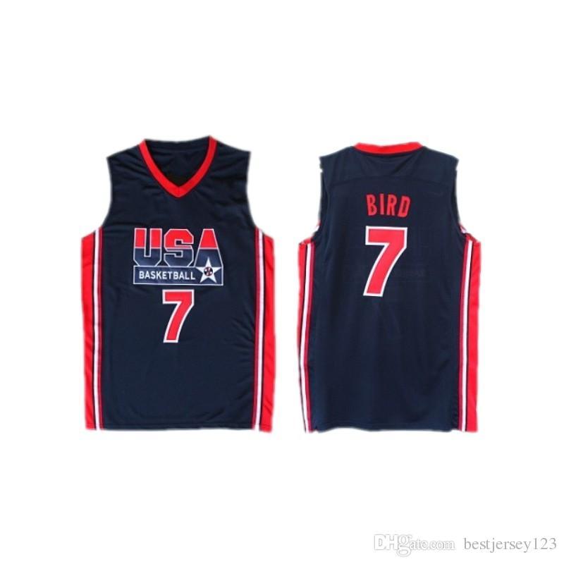 09767b4f1661 1992 USA Dream Team Robinson Ewing Bird Pippen MJ Clyde Drexler ...