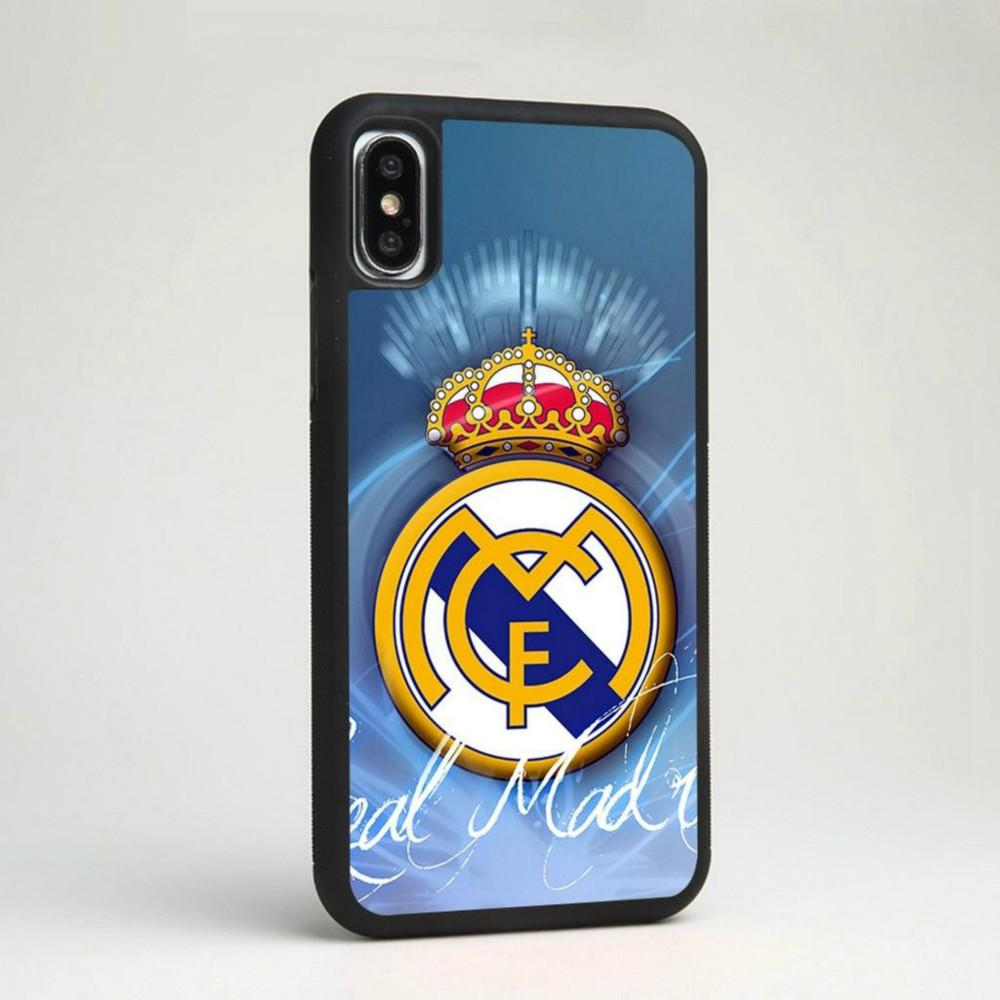 hot sale online 25e36 8b2d4 Real Madrid CF Football Club Soccer Team Phone Case For Iphone 5c 5s 6s  6plus 6splus 7 7plus Samsung Galaxy S5 S6 S6ep S7 S7ep