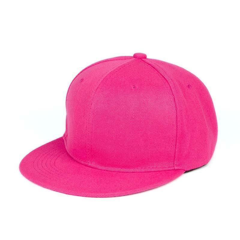 63711f61 Fashion Unisex Baseball Caps Plain Snapback Hat Hip Hop Adjustable Cap In  Light Gray Purple Burgundy Hot Pink Green Black Color Baseball Caps Custom  Hats ...