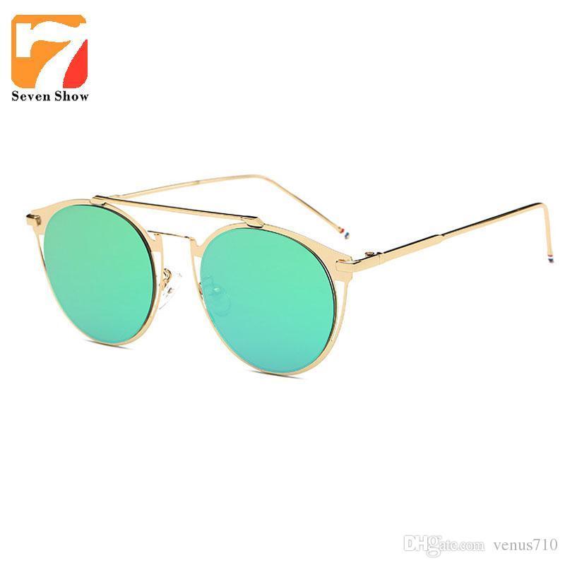 324de716a6 Wholesale New Rimless Cat Eye Sunglasses Women Men Luxury THOM Brand Brown  Fashion Sun Glasses Shades Mens Sunglasses Eyewear Gafas De Sol Mens  Sunglasses ...