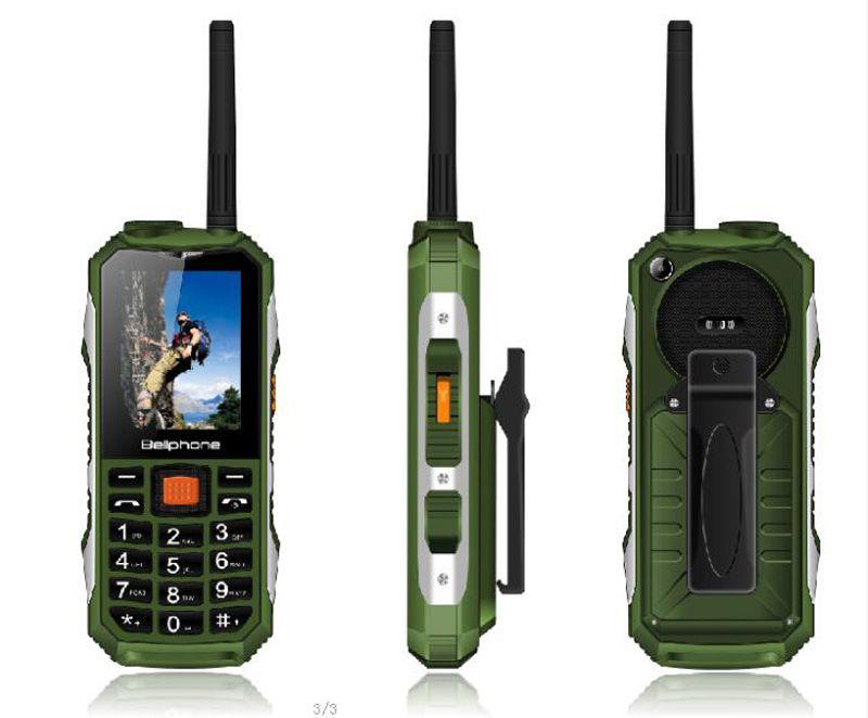 Walkie Talkie Mobile Phone!Power Bank Cell Phone!FM!2400mAh Big Battery!sos  Button !Big Flashlight Big button Bar Phone Dual SIM card cheap