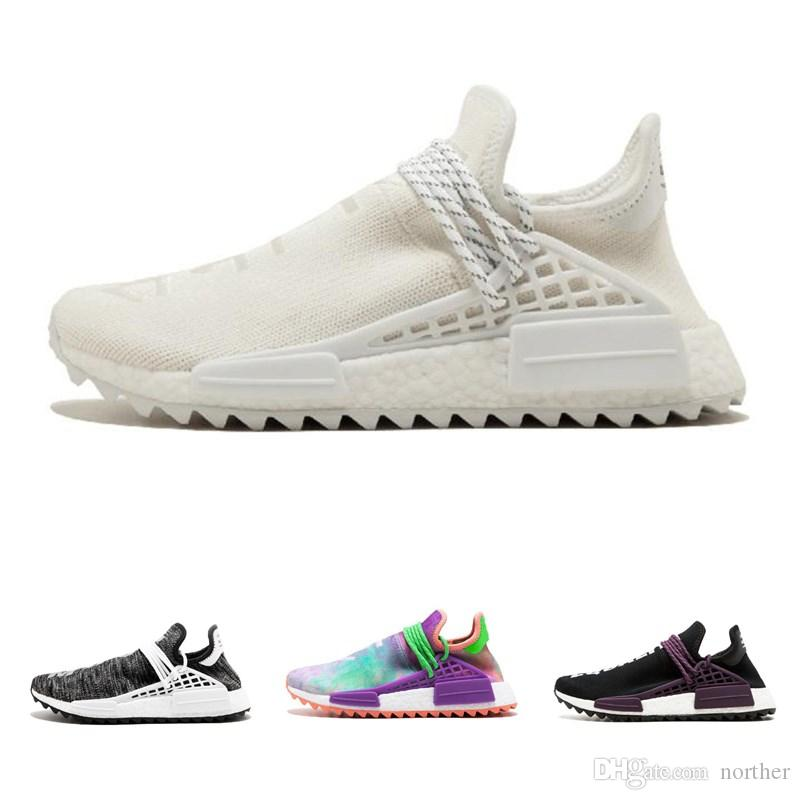 357d4b05b Human Race Running Shoes Pharrell Williams Hu Trail Cream Core Black ...