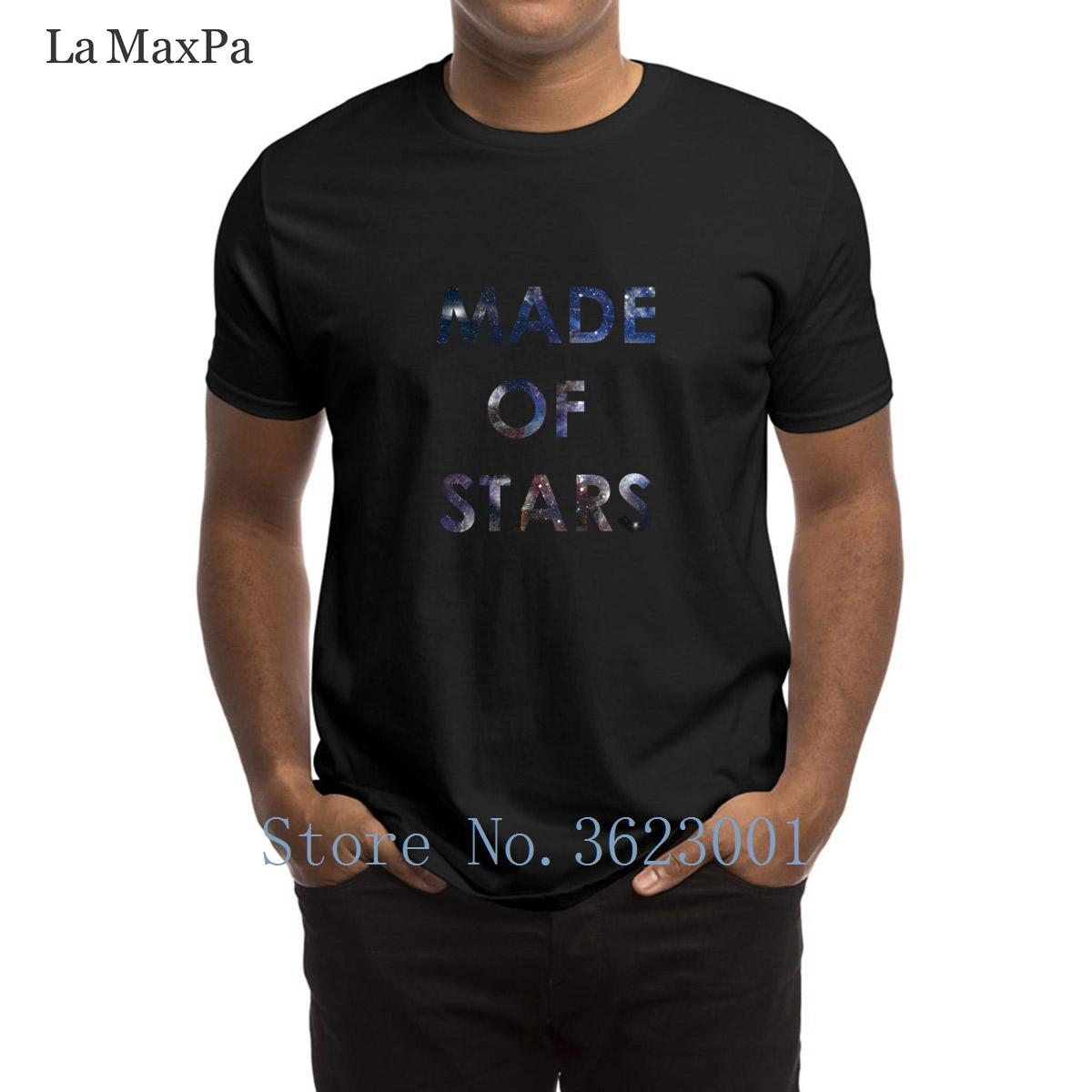 0f0d535b Custom Trend T Shirt Made Of Stars Men'S T Shirt Great 2018 Mens Tshirt New  Style Crew Neck Tee Shirt For Men High Quality Novelty Shirts Original T  Shirts ...