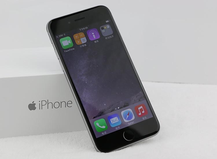 Desbloqueado original de Apple iPhone 6 sin huella dactilar 4.7 pulgadas Dual Core 16G / 64G / 128GB Rom IOS 8MP cámara restaurada