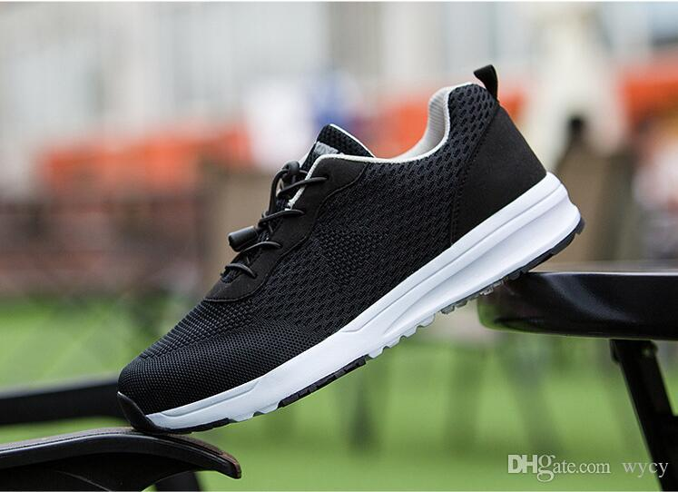 89cf33fb2589d Mens Shoes Steel Toe Cap Camo Spring Breathable Mesh Casual Shoe Labor  Insurance Puncture Proof Work Sneakers Mens Running Shoes Men Running Shoes  Best ...