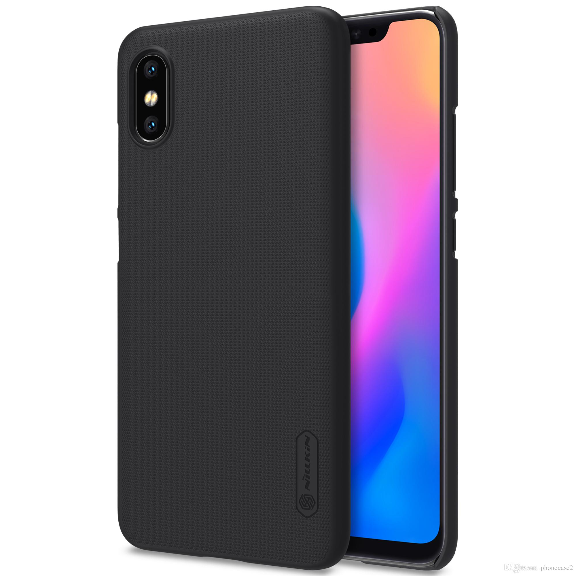 timeless design da8cd bd2ce Xiaomi mi8 explorer Case xiaomi mi 8 explorer Cover NILLKIN Super Frosted  Shield matte hard back cover with free screen protector