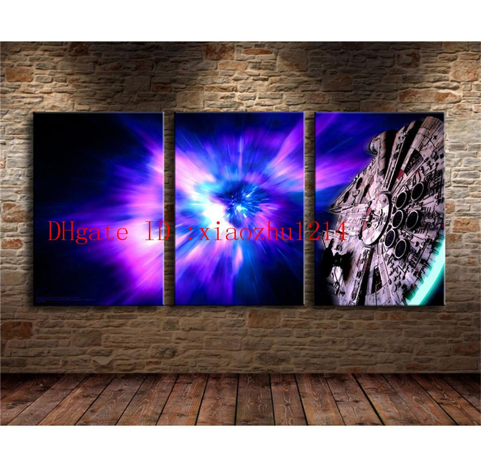 Kessel Run -2,Home Decor HD Printed Modern Art Painting on Canvas ...