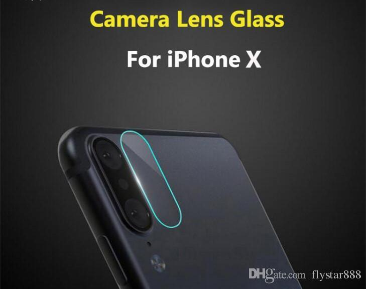 brand new 2ccf2 d7030 For iphone x Iphone 8 7 6 Plus Accessory Back Camera Lens Screen Protector  Protection Tempered Glass Full Cover Coverage Film