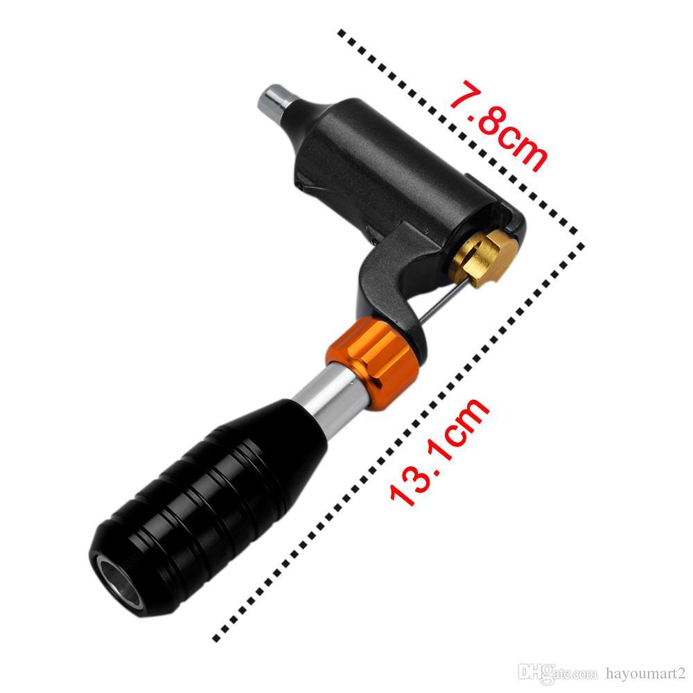 Machine rotatoire hybride de tatouage de moteur de tatouage de forme de tatouage de L pour le revêtement permanent de maquillage et le shader