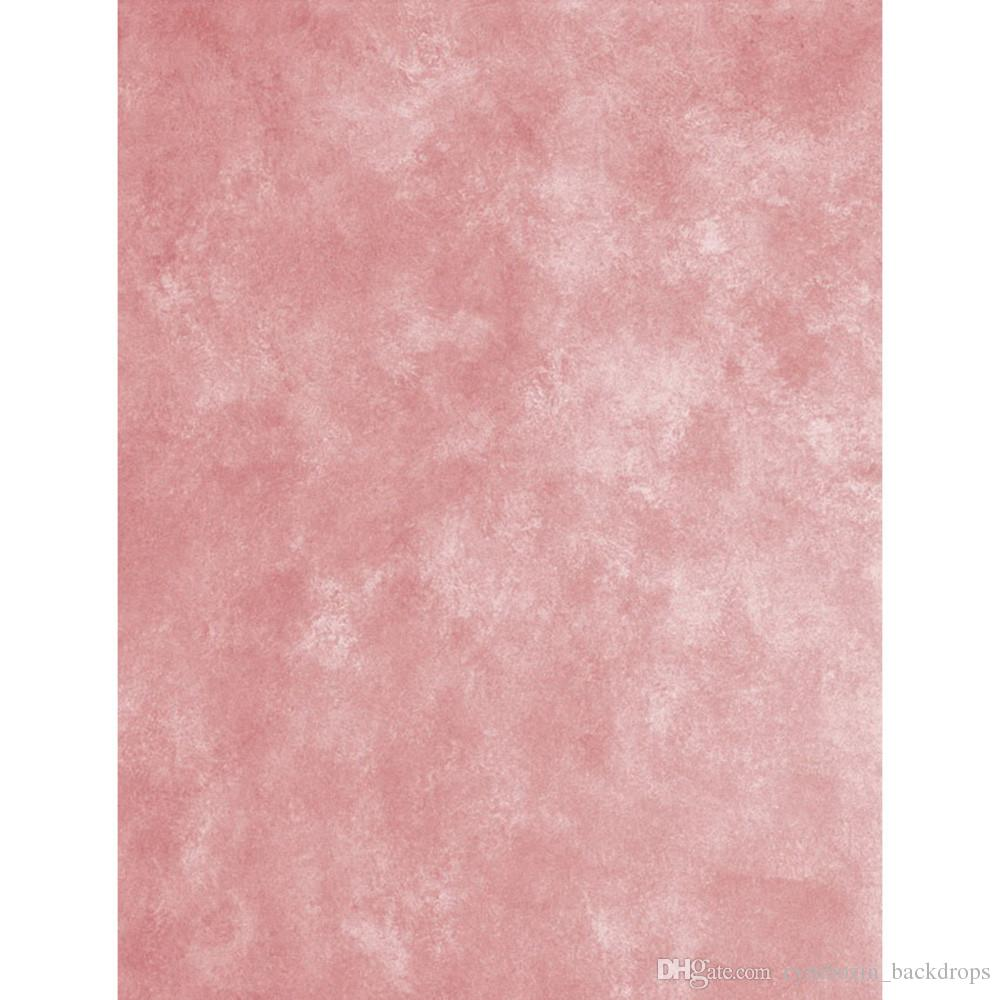 Solid Pink Vinyl Backdrops For Photography Baby Newborn Photo Shoot Wallpaper Props Kids Children Photographic Backgrounds