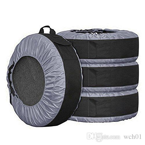 3c16cc5742e1 2019 Tire Tote Cover Bag Adjustable Waterproof Grey 30in Seasonal Tire  Storage Bag For Car Off Road Truck Tire Totes Set Of 4 From Wch01