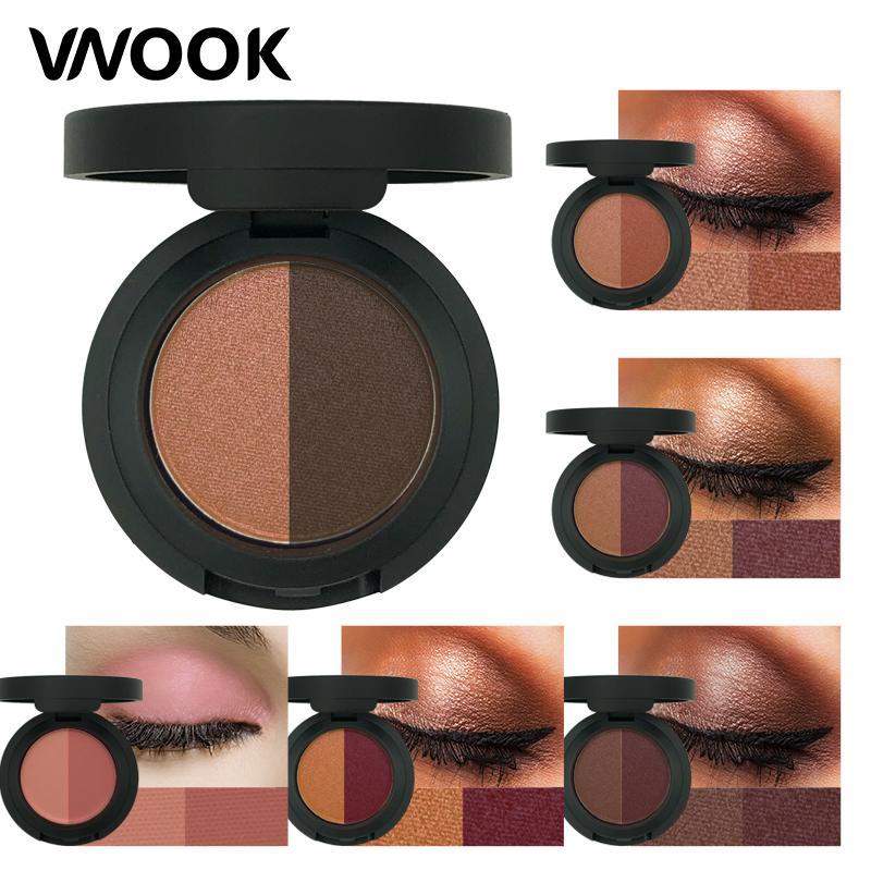 Vnook Brand Eyeshadow Palette Make Up Face Powder Glitter Eye Shadow Natural Nude Brown Soft Shimmer Korean Makeup Set Eye Makeup For Green Eyes Eye Makeup ...