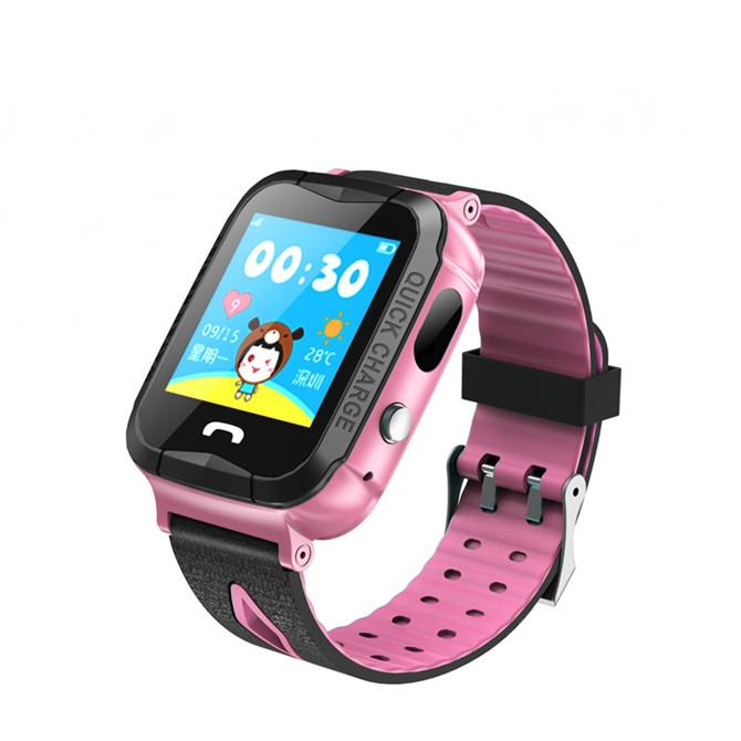New V6G Waterproof IP67 GPS Smart Watch with Camera Flashlight SOS Call Location Touch Screen Anti-Lost Monitor Tracker Bluetooth Watches